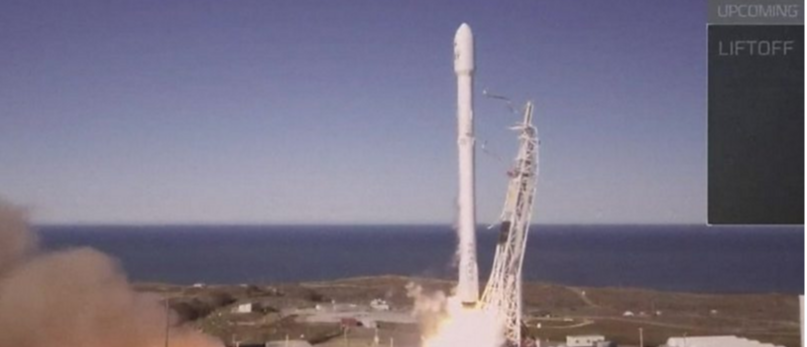 SpaceX returns to flight with Falcon 9 rocket launch BBC News