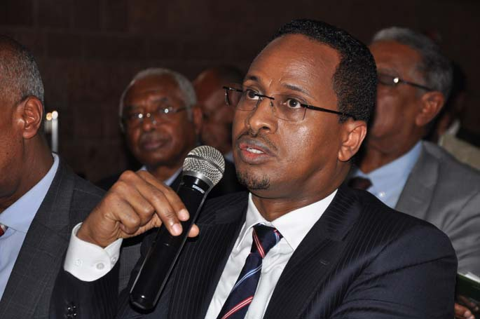 H.E Ato Abdulfetah Abdulahi_ Minister of Labor and Social Affairs