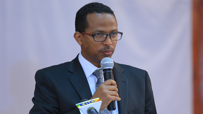 H.E. Dr.-Ing. Getahun Mekuria, Minister of Ministry of Science and Technology