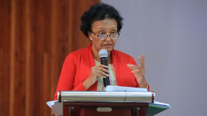 Wro Zenebework Tadesse,  Principal Vice President of the EAS